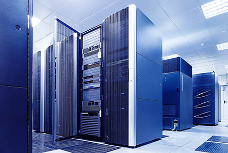 server hardware room
