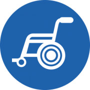 wheelchair ordering icons