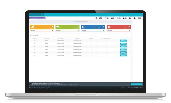 supplier portal screenshot