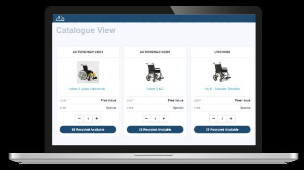 catalogue screenshot